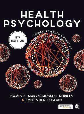 Portada del libro 9781526408242 Health Psychology. Theory, Research and Practice (Softcover)