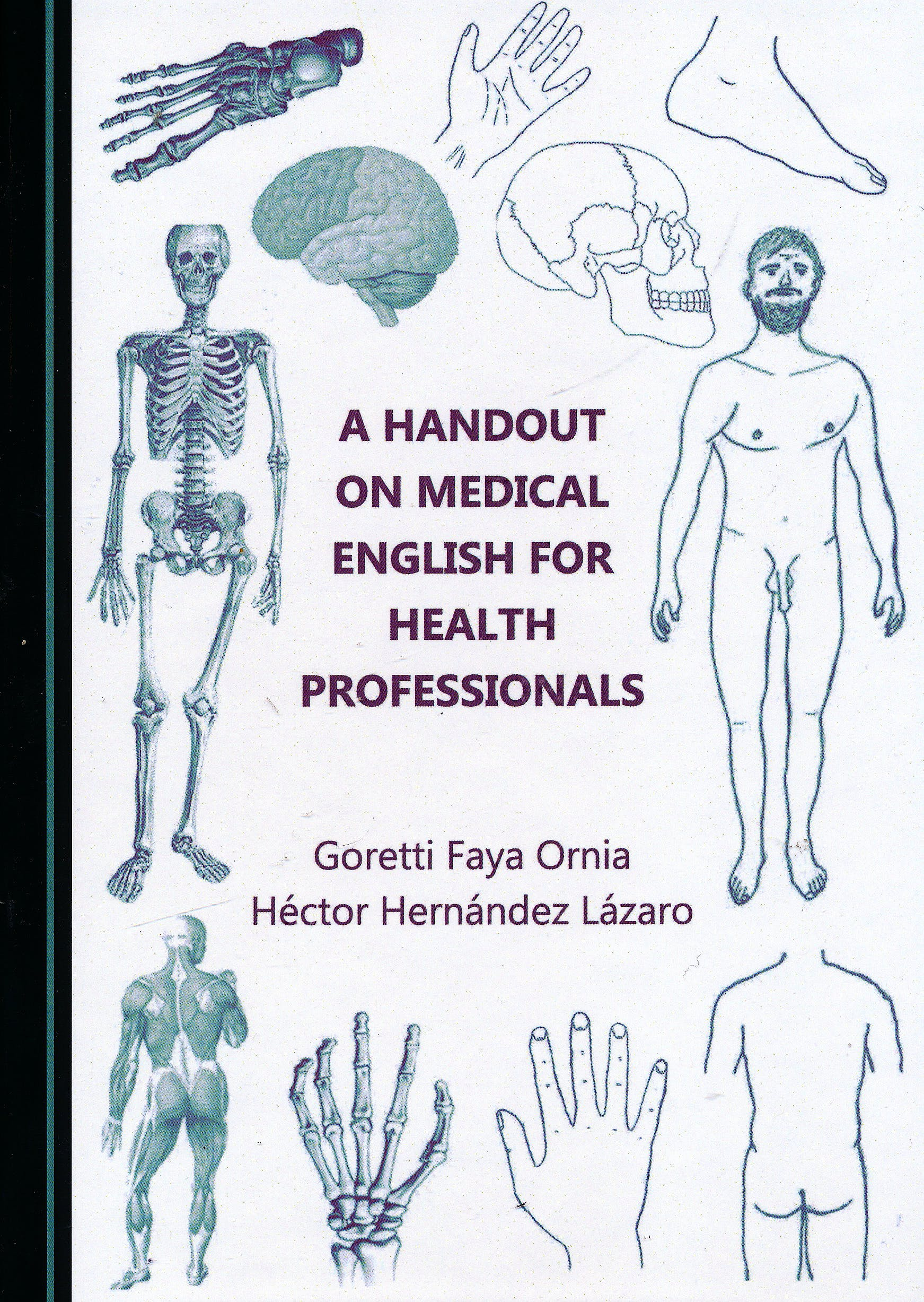 Portada del libro 9781527500365 A Handout on Medical English for Health Professionals