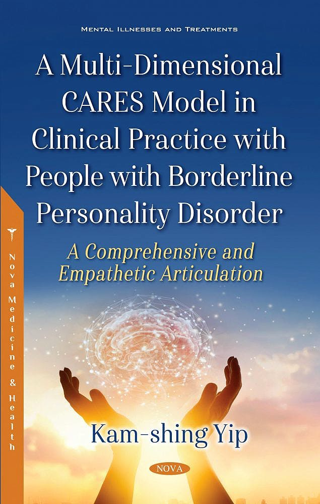 Portada del libro 9781536133219 A Multi-Dimensional CARES Model in Clinical Practice with People with Borderline Personality Disorder