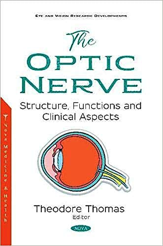 Portada del libro 9781536143812 The Optic Nerve. Structure, Functions and Clinical Aspects
