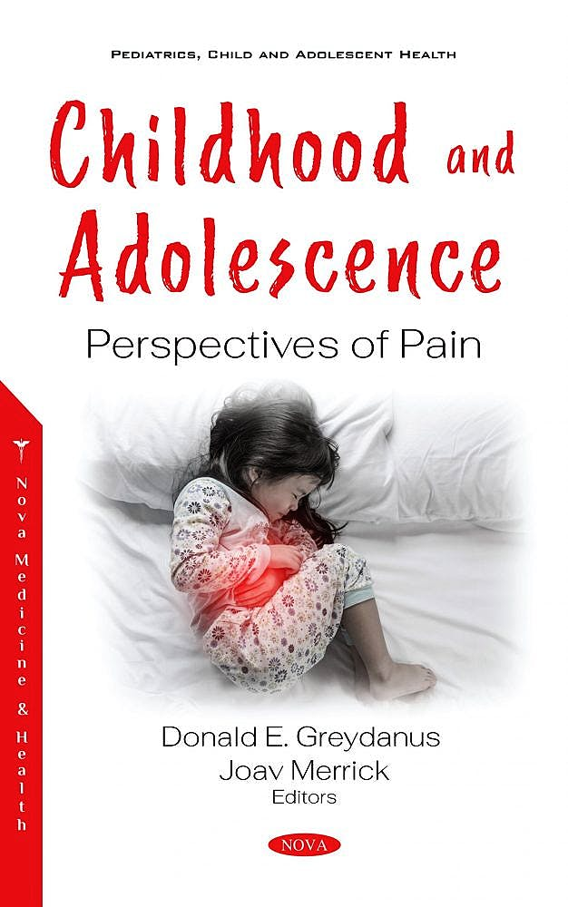 Portada del libro 9781536184167 Childhood and Adolescence. Perspectives of Pain