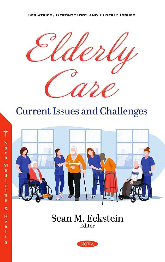 Portada del libro 9781536184464 Elderly Care. Current Issues and Challenges