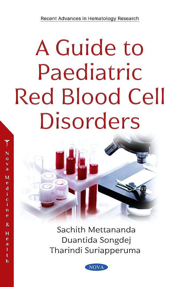 Portada del libro 9781536186956 A Guide to Paediatric Red Blood Cell Disorders