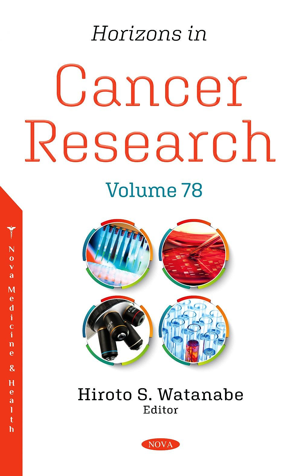 Portada del libro 9781536187731 Horizons in Cancer Research. Volume 78
