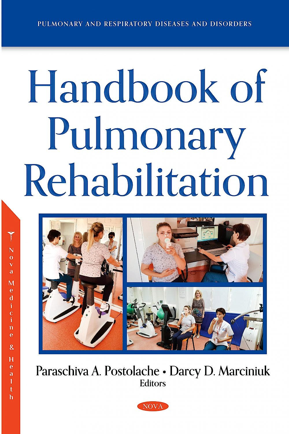 Portada del libro 9781536188127 Handbook of Pulmonary Rehabilitation