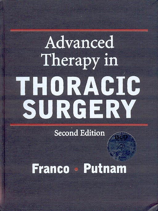 Portada del libro 9781550090802 Advanced Therapy in Thoracic Surgery