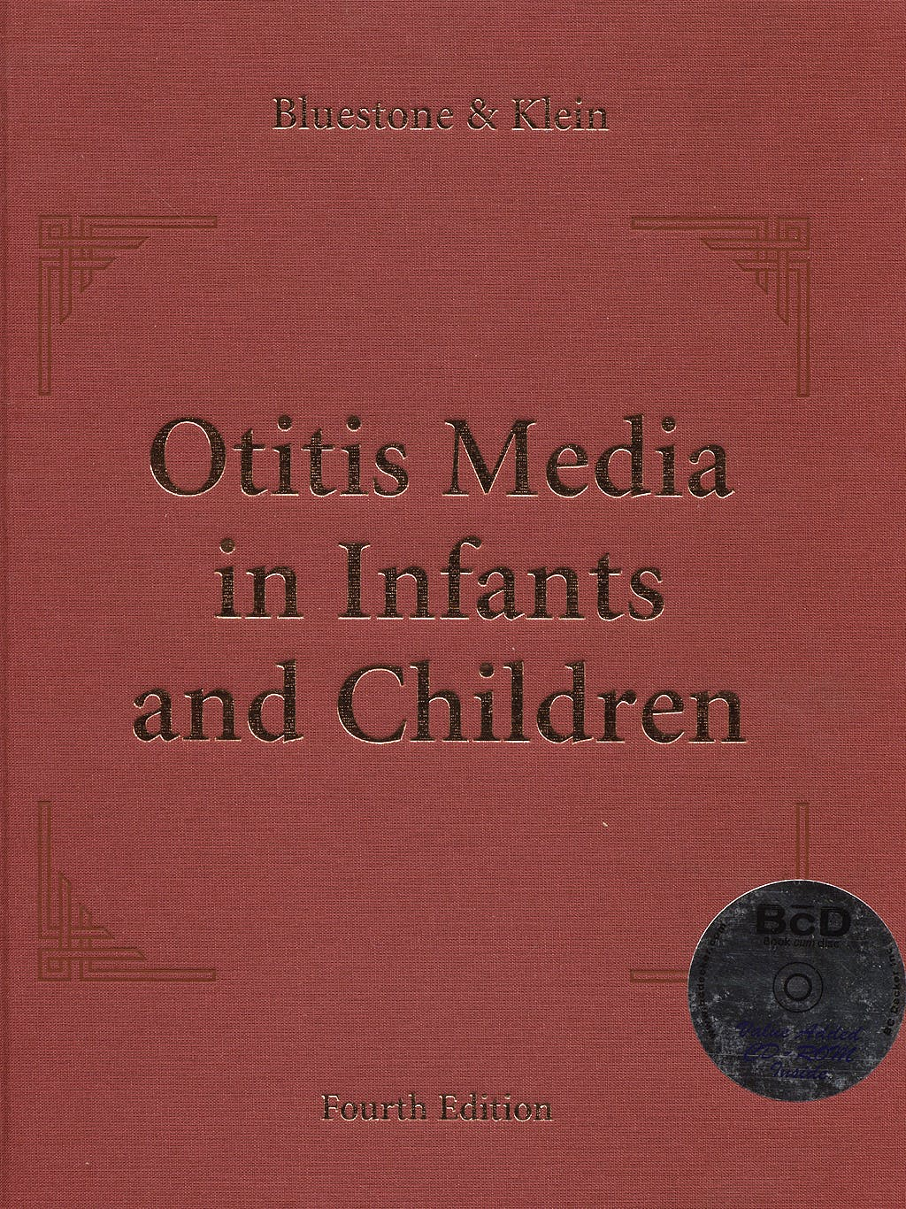 Portada del libro 9781550093353 Otitis Media in Infants and Children