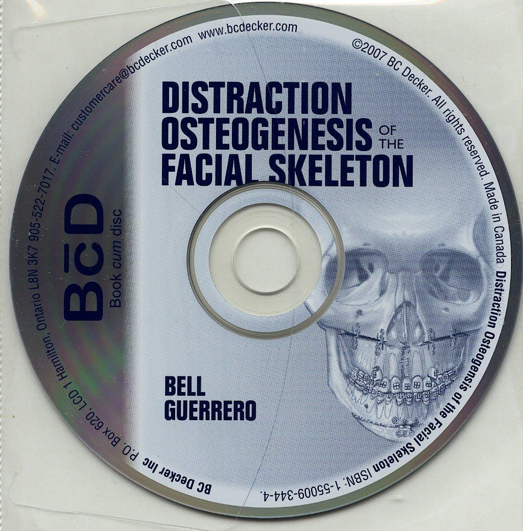 Portada del libro 9781550093445 Distraction Osteogenesis of the Facial Skeleton