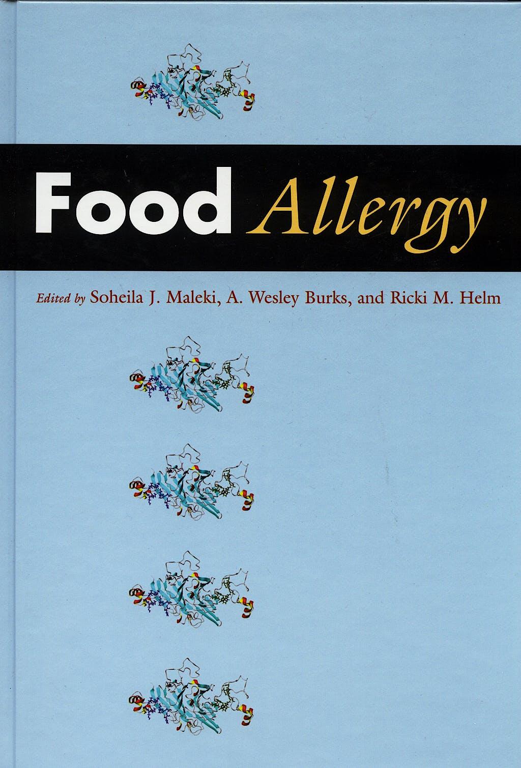 Portada del libro 9781555813758 Food Allergy