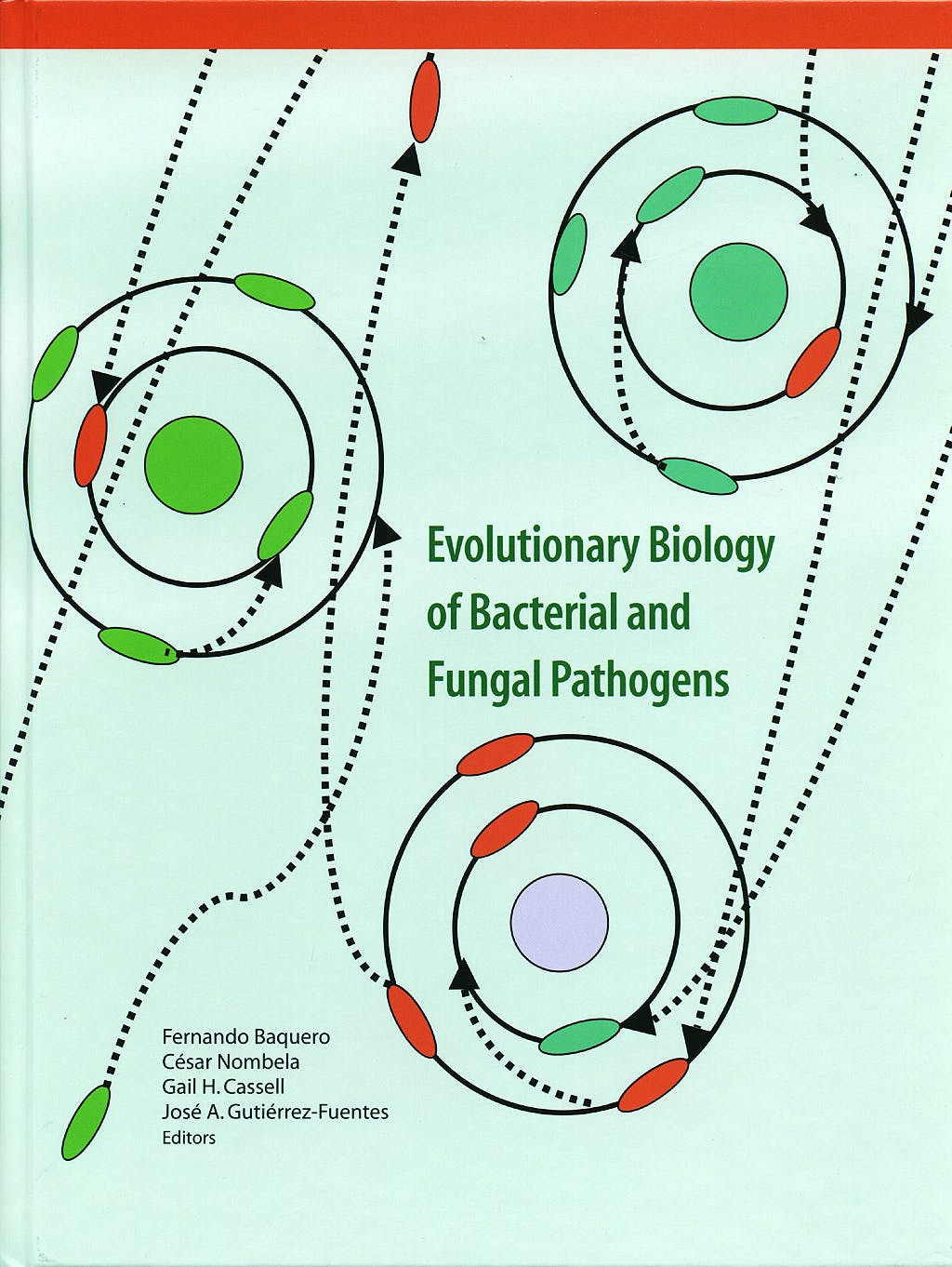 Portada del libro 9781555814144 Evolutionary Biology of Bacterial and Fungal Pathogens