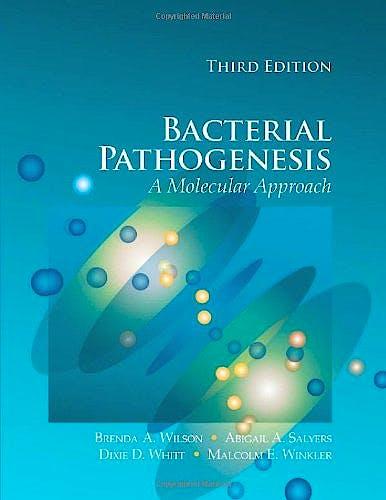 Portada del libro 9781555814182 Bacterial Pathogenesis