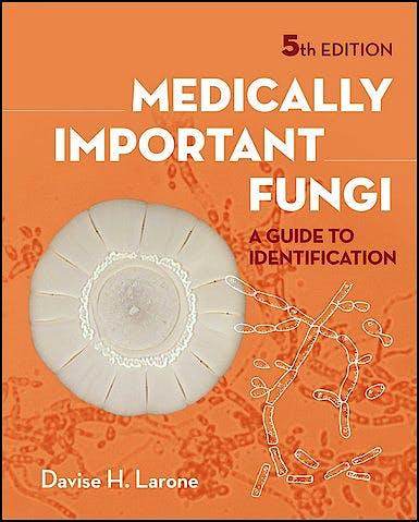 Portada del libro 9781555816605 Medically Important Fungi. A Guide to Identification