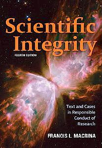 Portada del libro 9781555816612 Scientific Integrity. Text and Cases in Responsible Conduct of Research
