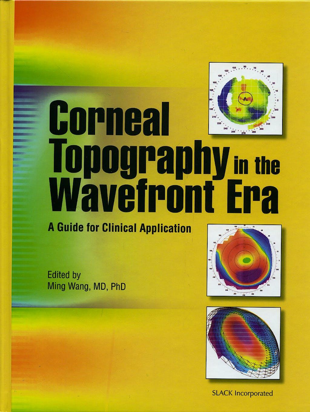 Portada del libro 9781556427183 Corneal Topography in the Wavefront Era