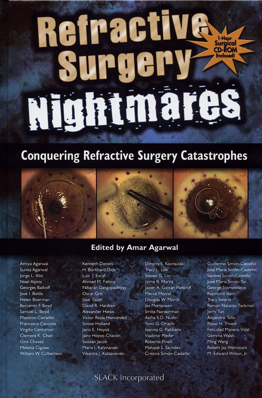Portada del libro 9781556427886 Refractive Surgery Nightmares