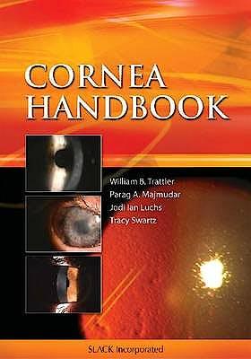Portada del libro 9781556428425 Cornea Handbook