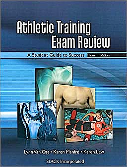 Portada del libro 9781556428548 Athletic Training Exam Review. a Student Guide to Success