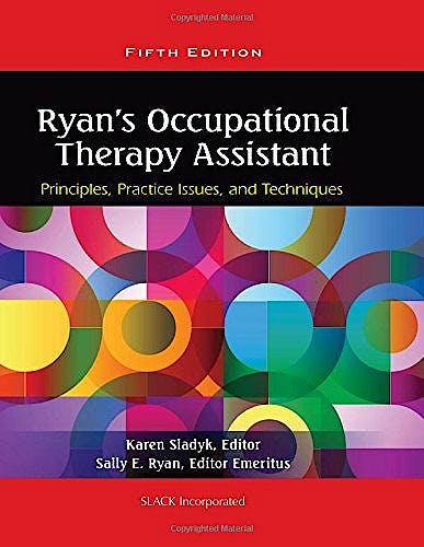 Portada del libro 9781556429620 Ryan's Occupational Therapy Assistant. Principles, Practice Issues, and Techniques