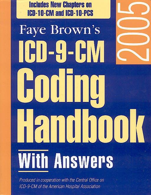Portada del libro 9781556483158 Icd-9-Cm Coding Handbook 2005 with Answers