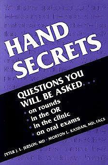 Portada del libro 9781560532170 Hand Secrets