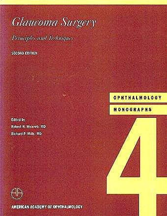 Portada del libro 9781560550464 Ophthalmology Monographs, Vol. 4: Glaucoma Surgery