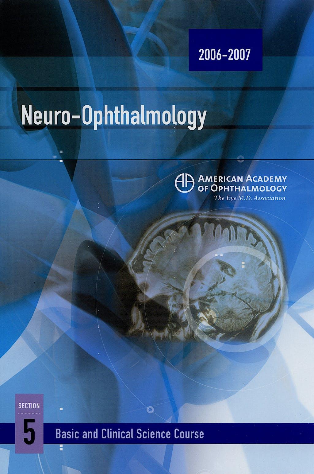 Portada del libro 9781560556091 Neuro-Ophththalmology. 2006-2007 Bcsc Section 5