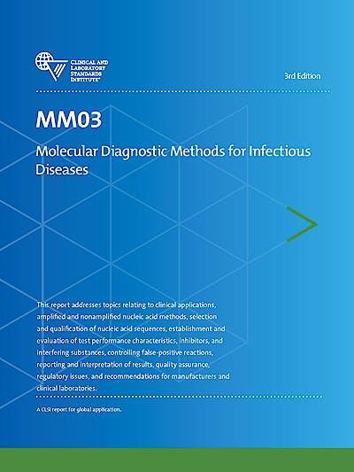 Portada del libro 9781562389970 MM03 Molecular Diagnostic Methods for Infectious Diseases (CLSI MM03-ED3)