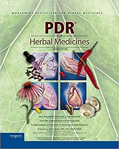 Portada del libro 9781563636783 PDR for Herbal Medicines (Physicians' Desk Reference for Herbal Medicines) by PDR (Physicians' Desk Reference)