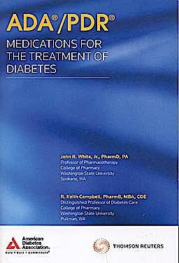 Portada del libro 9781563637346 ADA/PDR Medications for the Treatment of Diabetes