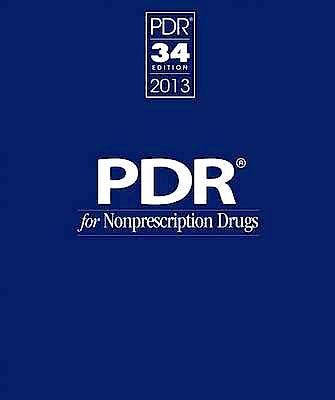 Portada del libro 9781563638121 Physicians' Desk Reference for Nonprescription Drugs