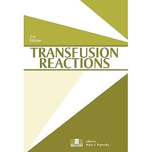 Portada del libro 9781563952449 Transfusion Reactions