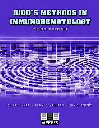 Portada del libro 9781563952661 Judd's Methods in Immunohematology + Cd-Rom