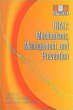 Portada del libro 9781563952678 Trali: Mechanisms, Management, and Prevention