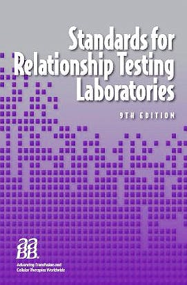 Portada del libro 9781563952937 Standards for Relationship Testing Laboratories + Cd-Rom