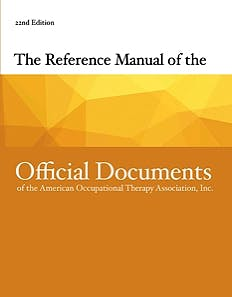 Portada del libro 9781569004067 Reference Manual of the Official Documents of the AOTA
