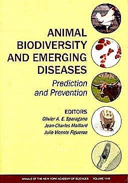 Portada del libro 9781573317146 Animal Biodiversity and Emerging Diseases. Prediction and Prevention