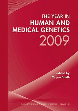 Portada del libro 9781573317313 Year in Human and Medical Genetics 2009