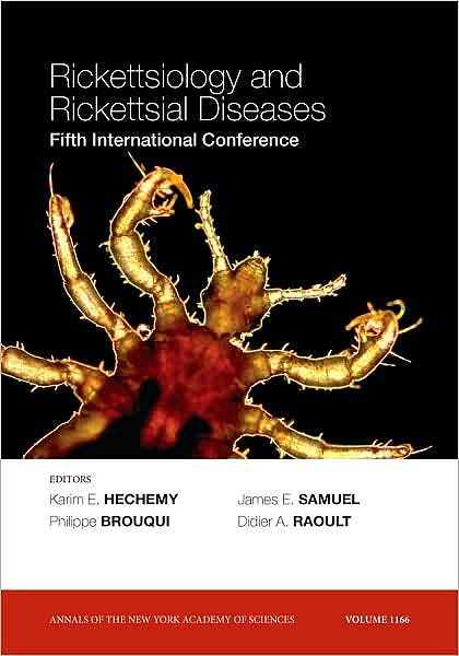 Portada del libro 9781573317504 Rickettsiology and Rickettsial Diseases