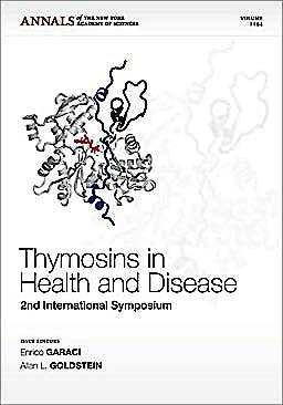 Portada del libro 9781573318013 Thymosins in Health and Disease: Second International Symposium