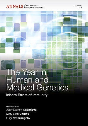 Portada del libro 9781573318495 The Year in Human and Medical Genetics. Inborn Errors of Immunity I
