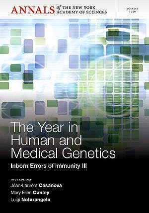 Portada del libro 9781573318785 The Year in Human and Medical Genetics. Inborn Errors of Immunity III (Annals of the New York Academy of Sciences, Vol. 1250)