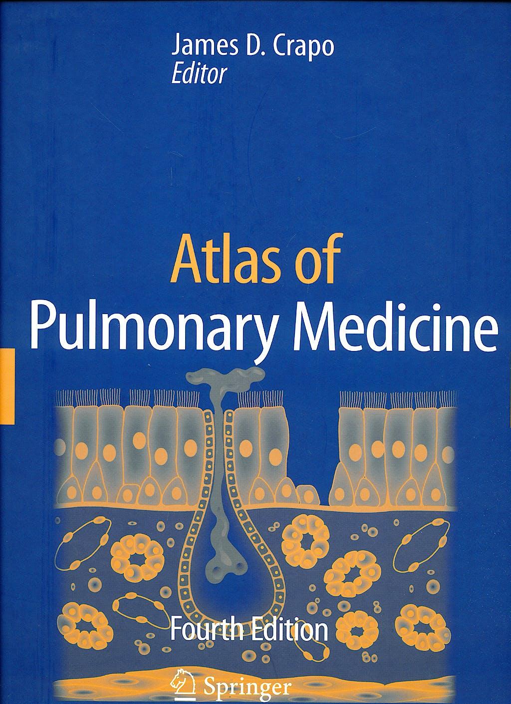 Portada del libro 9781573402934 Atlas of Pulmonary Medicine