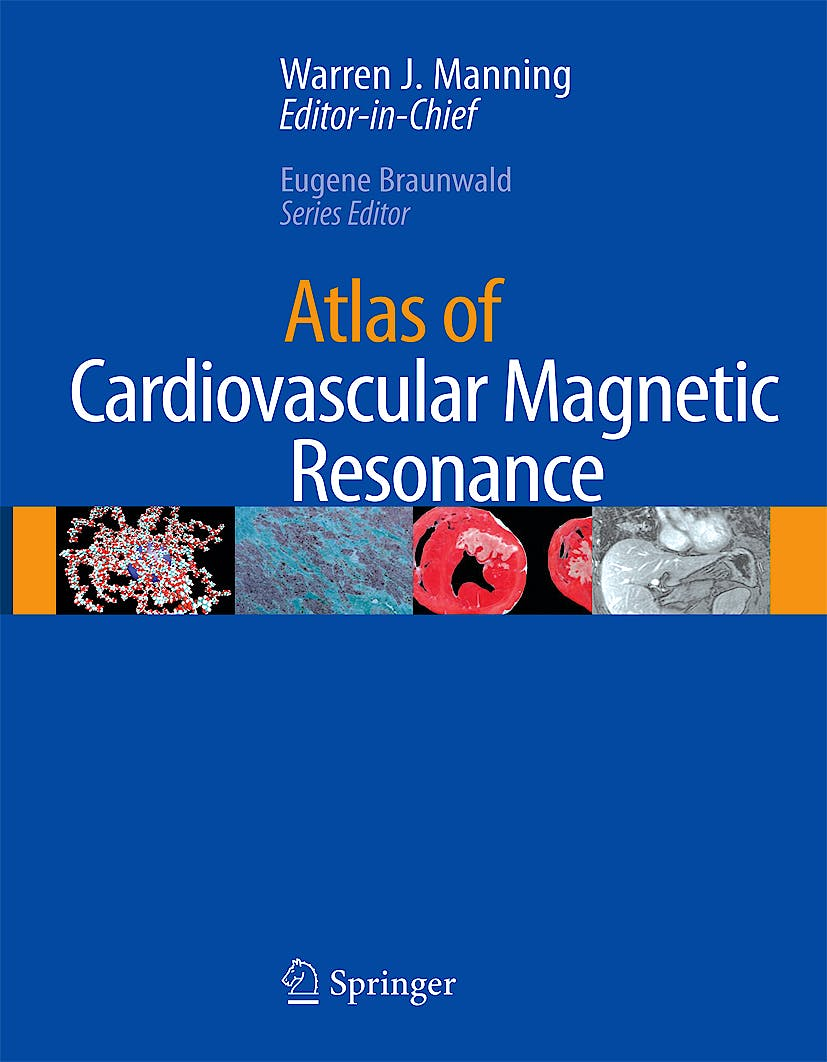 Portada del libro 9781573402996 Atlas of Cardiovascular Magnetic Resonance + Cd