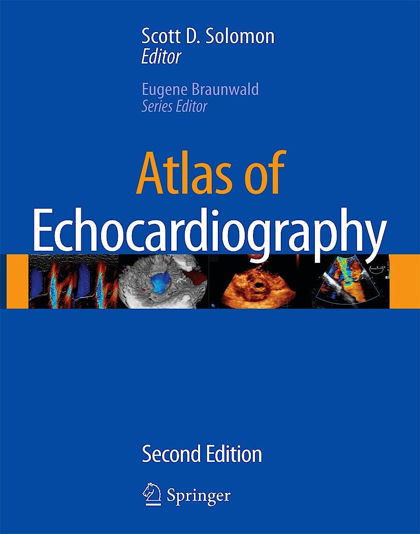 Portada del libro 9781573403238 Atlas of Echocardiography