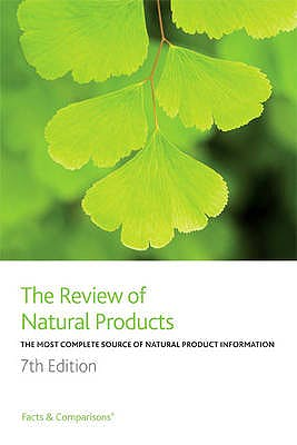 Portada del libro 9781574393460 The Review of Natural Products. the Most Complete Source of Natural Product Information