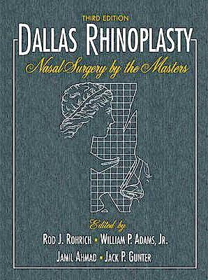 Portada del libro 9781576263846 Dallas Rhinoplasty. Nasal Surgery by the Masters, 2 Vols. + 4 Dvd's