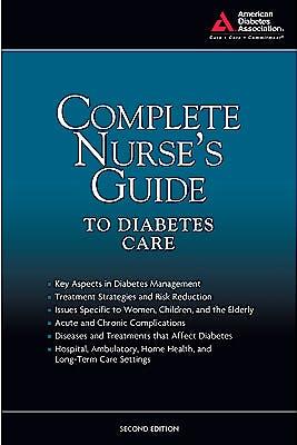 Portada del libro 9781580403252 Complete Nurse's Guide to Diabetes Care