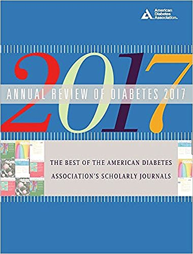Portada del libro 9781580406611 Annual Review of Diabetes 2017
