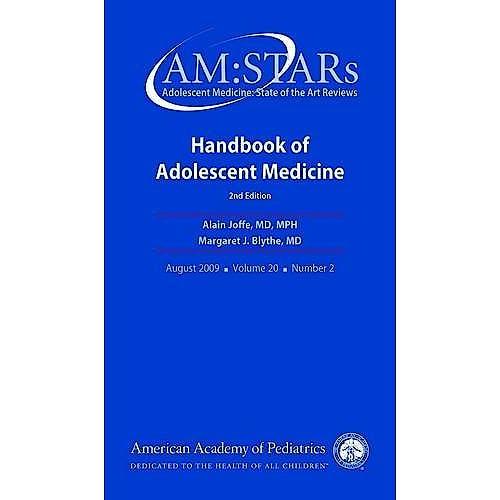 Portada del libro 9781581103342 Handbook of Adolescent Medicine. Adolescent Medicine - State of the Art Reviews