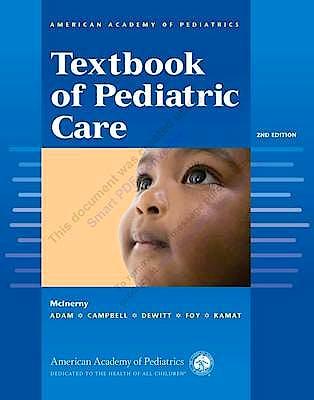 Portada del libro 9781581109665 AAP Textbook of Pediatric Care